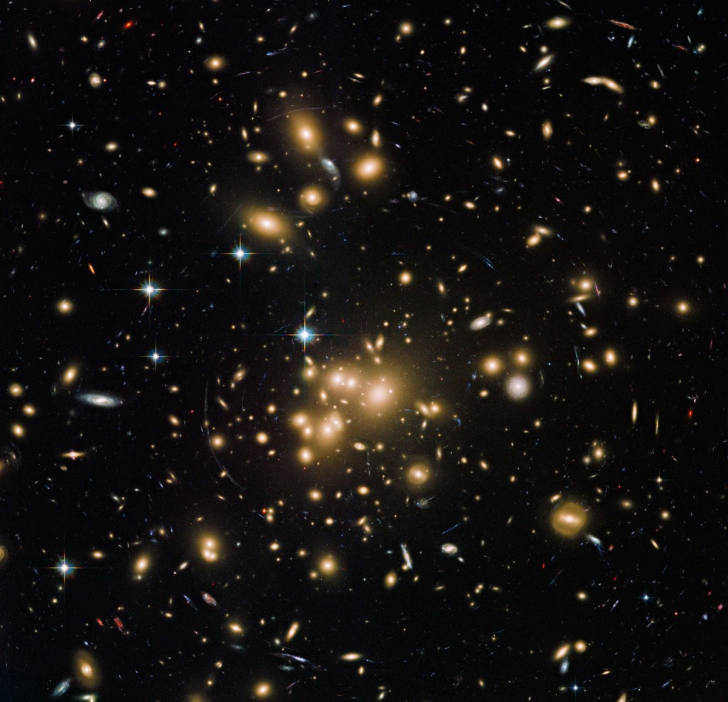 Hubble Galaxy Cluster